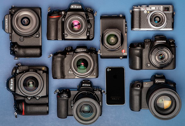 Poll results: most important cameras of the decade