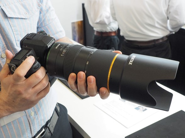 CP+ 2015: Ricoh gets serious with new Pentax full-frame zooms