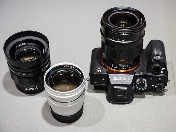CP+ 2019: Voigtländer shows new lenses for Sony E-mount