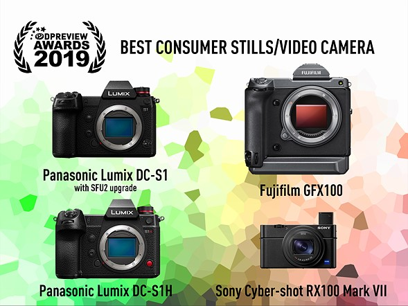 Best consumer stills / video camera