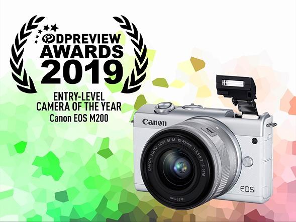 Winner: Canon EOS M200