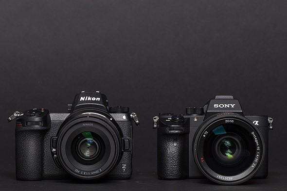 Mirrorless compared: Nikon Z7 and Sony a7R III