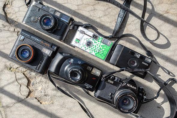 The 7 common film camera types