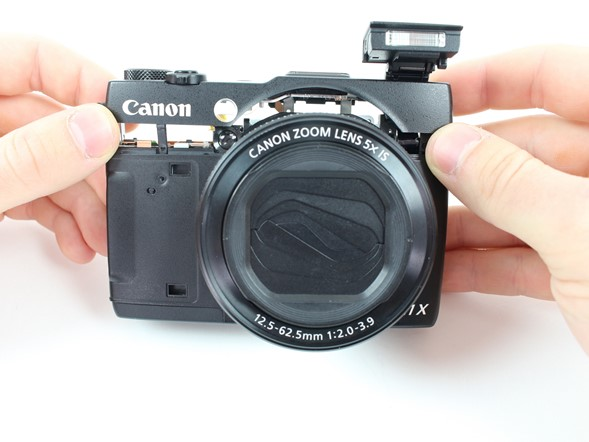 iFixit disassembles the Canon PowerShot G1 X Mark II