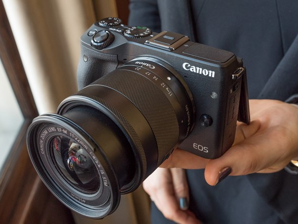 Hands-on with Canon's EOS M3