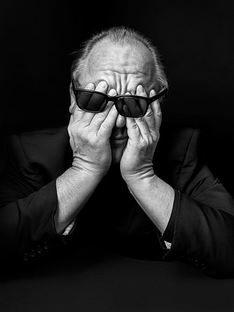 """Open Competition, Portraiture, Winner: 'Black Francis' by <a href=""""http://www.tomoldham.com/"""" rel=""""noopener"""" target=""""_blank"""">Tom Oldham</a> (United Kingdom)"""