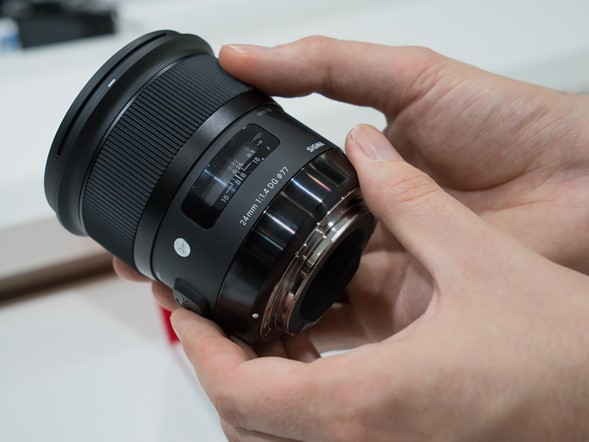 CP+ 2015: Hands on with Sigma's new 24mm F1.4 DG HSM Art lens