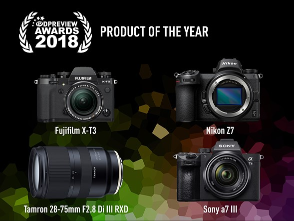DPReview product of the year, 2018