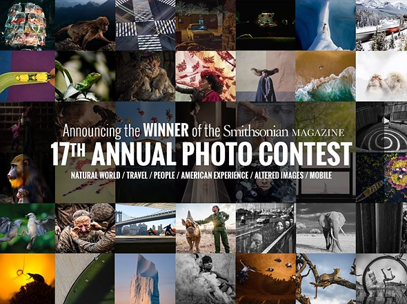 Winners and finalists of Smithsonian Magazine's 17th Annual Photo Contest