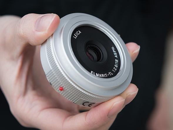 New 18mm pancake lens