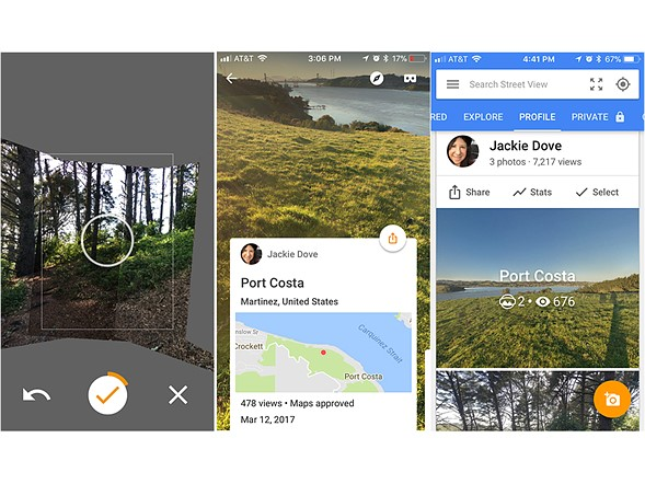 """<strong>Google Street View</strong> <br><a href=""""https://itunes.apple.com/us/app/google-street-view/id904418768?mt=8"""" rel=""""noopener"""" target=""""_blank"""">iOS</a>/<a href=""""https://play.google.com/store/apps/details?id=com.google.android.street&hl=en"""" rel=""""noopener"""" target=""""_blank"""" title=""""Android"""">Android</a> 