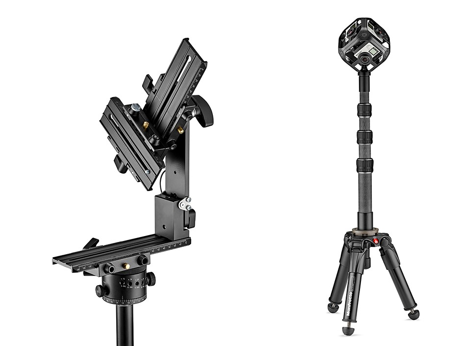 Manfrotto targets 360° VR creators with new range of accessories