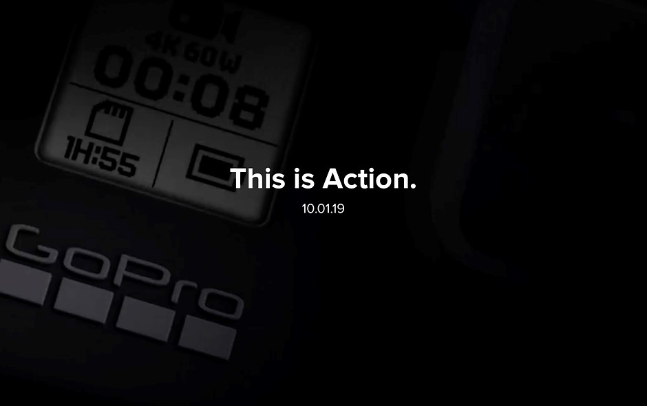 GoPro is teasing its upcoming action cam, 360º camera set for an October 1st announcement