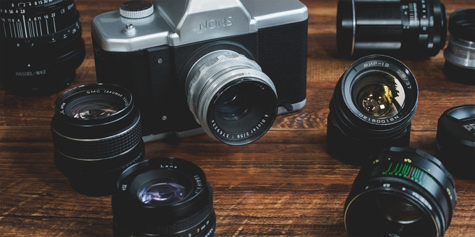 NONS SL42 is the world's first instant SLR with a M42 mount
