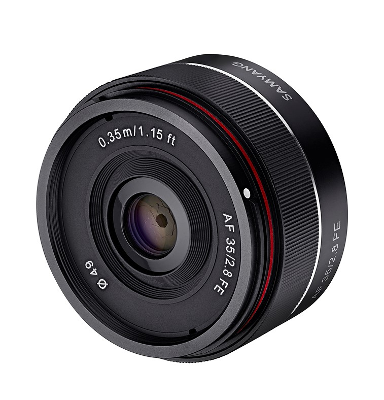 Samyang Targets Sony E Mount Users With New 35mm F2 8 Af