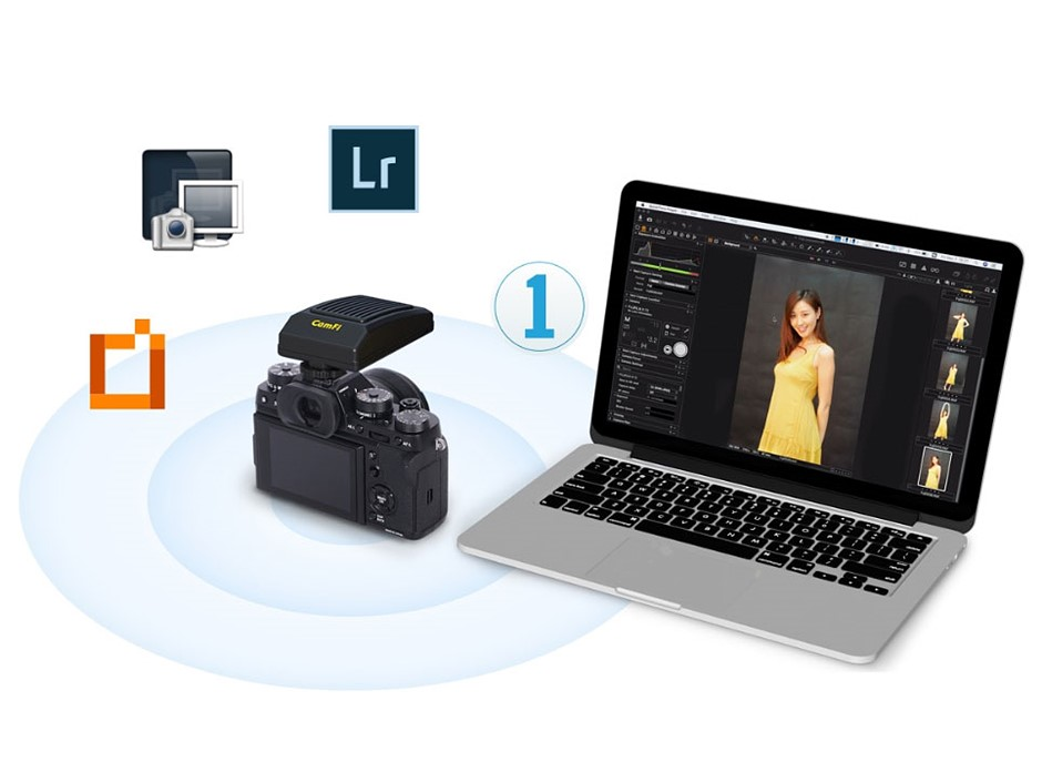 CamFi Pro Plus brings wireless tethering to 3rd party apps