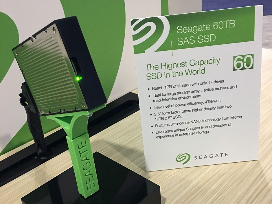Seagate Launches 60tb Ssd World S Highest Capacity Solid