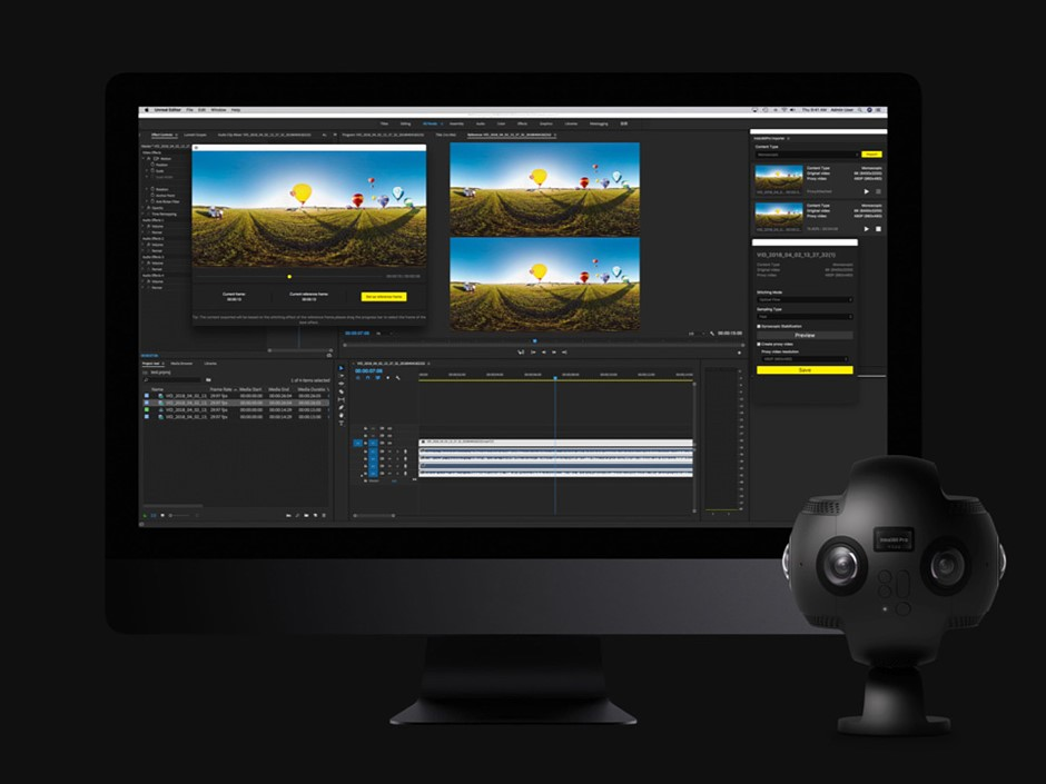 Free Insta360 Pro extension allows 'no-stitch' editing in Adobe Premiere Pro