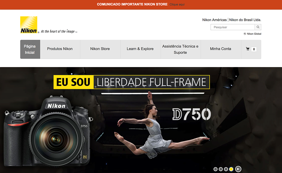 Nikon will shut down all sales operations in Brazil at the end of 2017