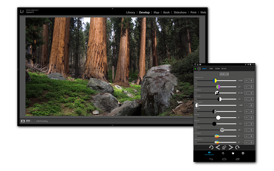 The Control Room App Lets You Control Lightroom From Your