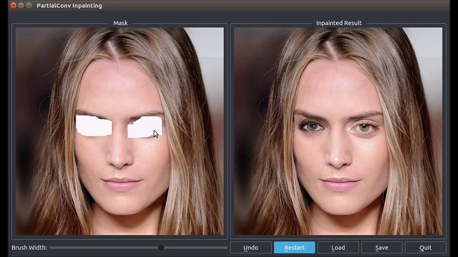 NVIDIA's content-aware fill uses deep learning to produce incredible results