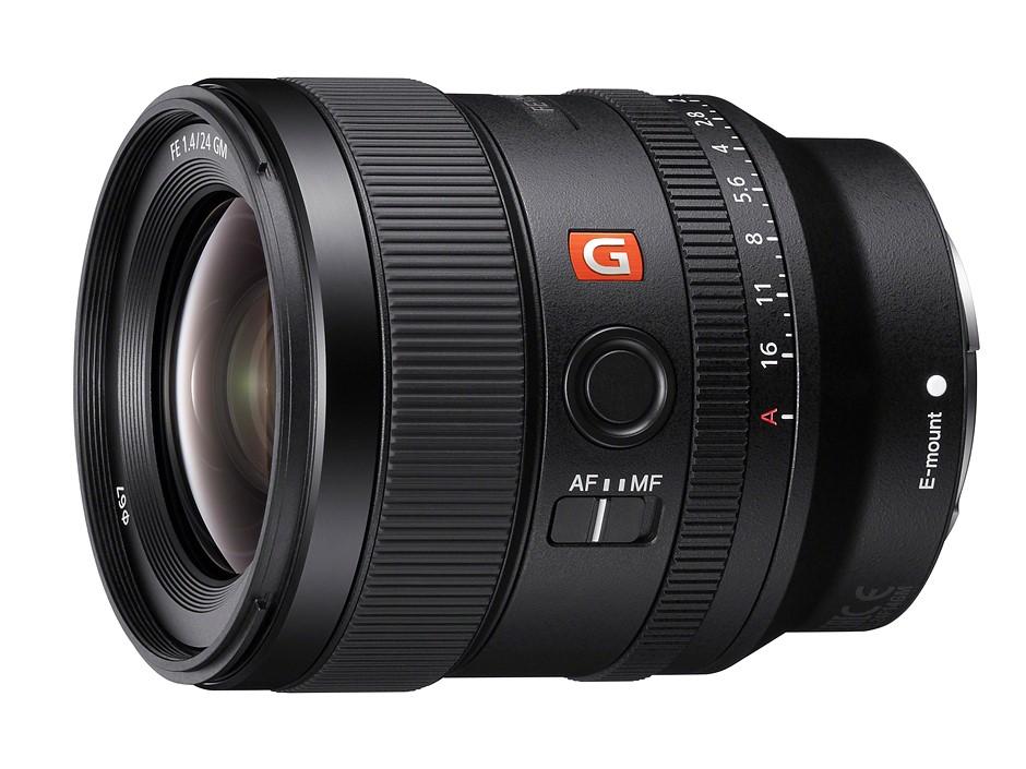 Sony announces lightweight FE 24mm F1.4 G Master prime