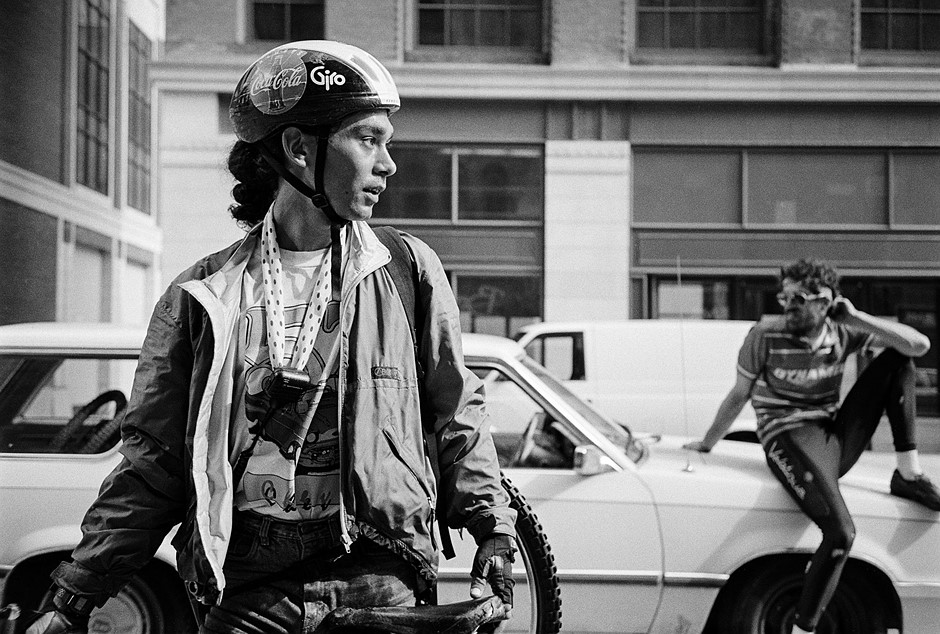 Film Friday: A look back at the 'golden age' of biker messengers - as shot on a Rollei 35SE