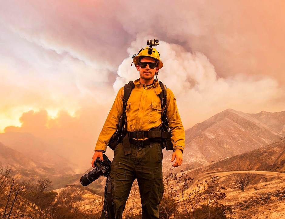 """I wish it weren't a Republican versus Democrat thing"": Wildfire photographer Stuart Palley on climate change and California's devastating blazes"