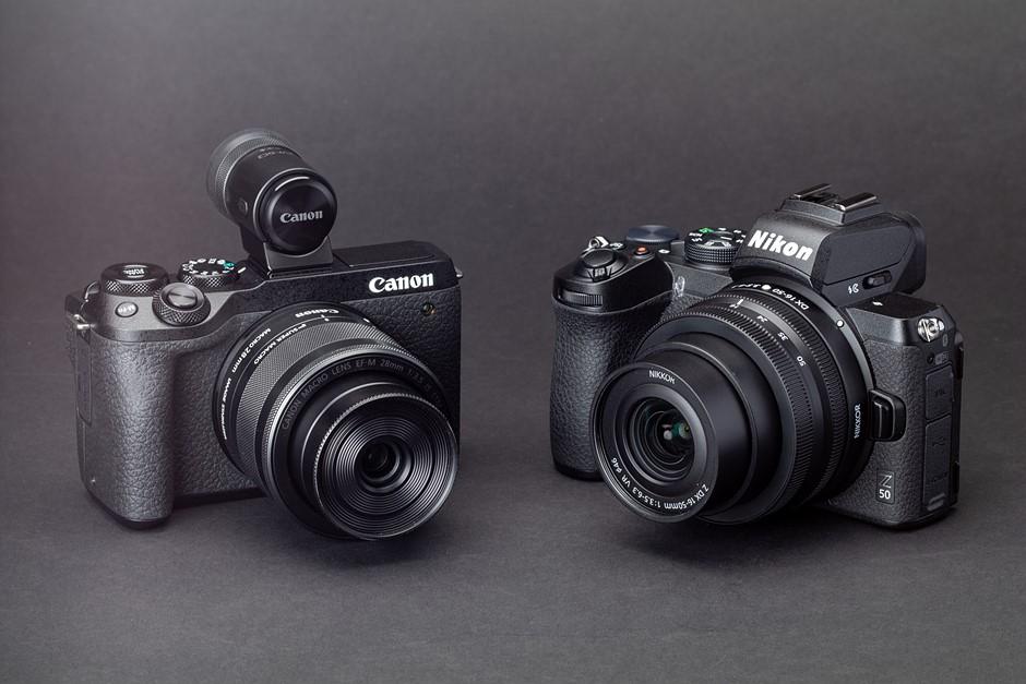 Nikon Z50 vs Canon EOS M6 Mark II: midrange mirrorless comparison