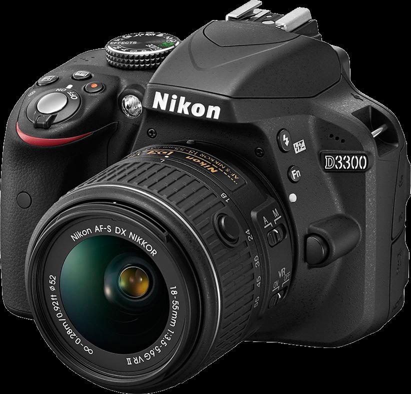 Nikon unveils D3300 with new sensor, processor and kit lens