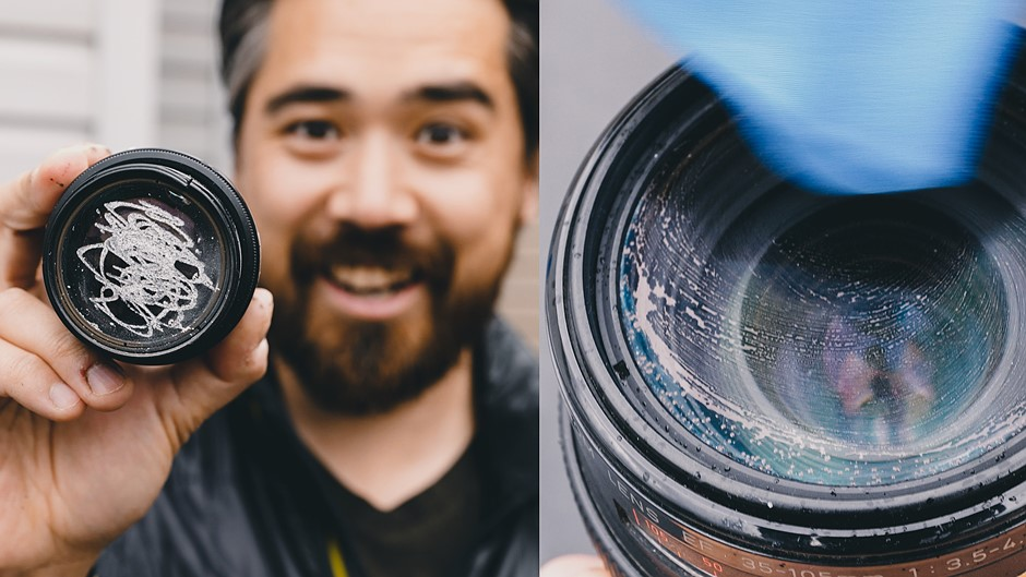 DPReview TV: How to clean your camera lens (hint: not like this)