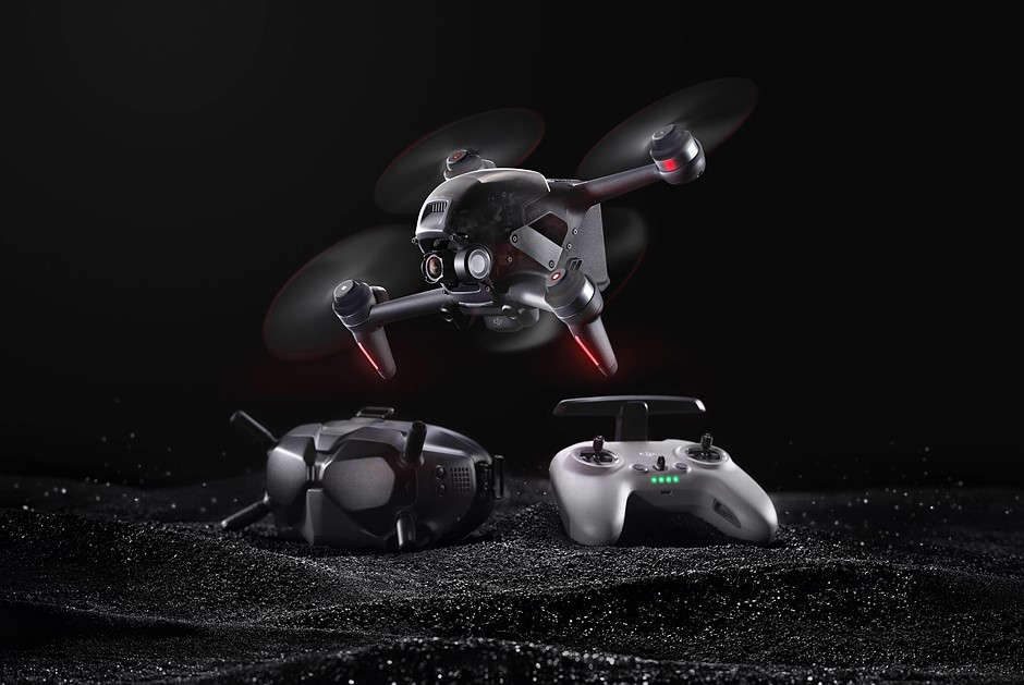 The DJI FPV is an all-in-one solution to first-person-view drones