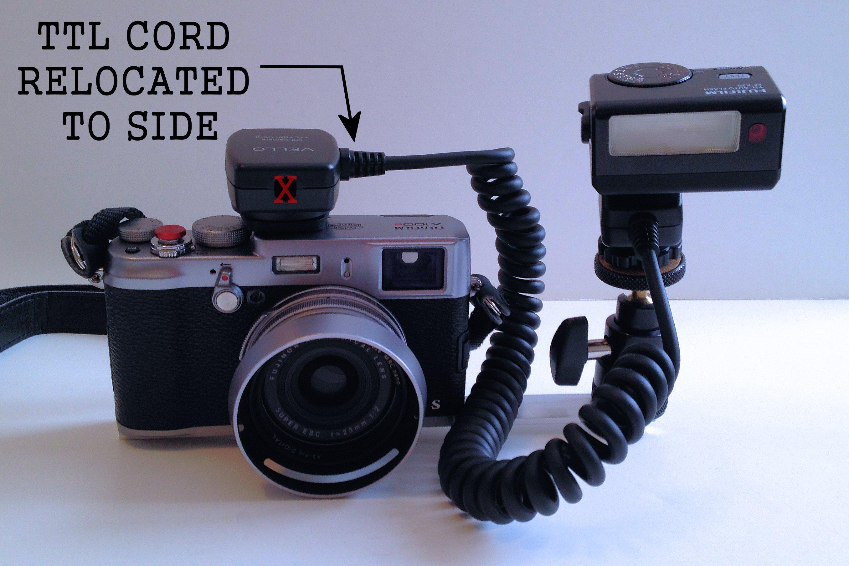 My Scratch-built Flash Bracket for X100, X100s: Fujifilm X