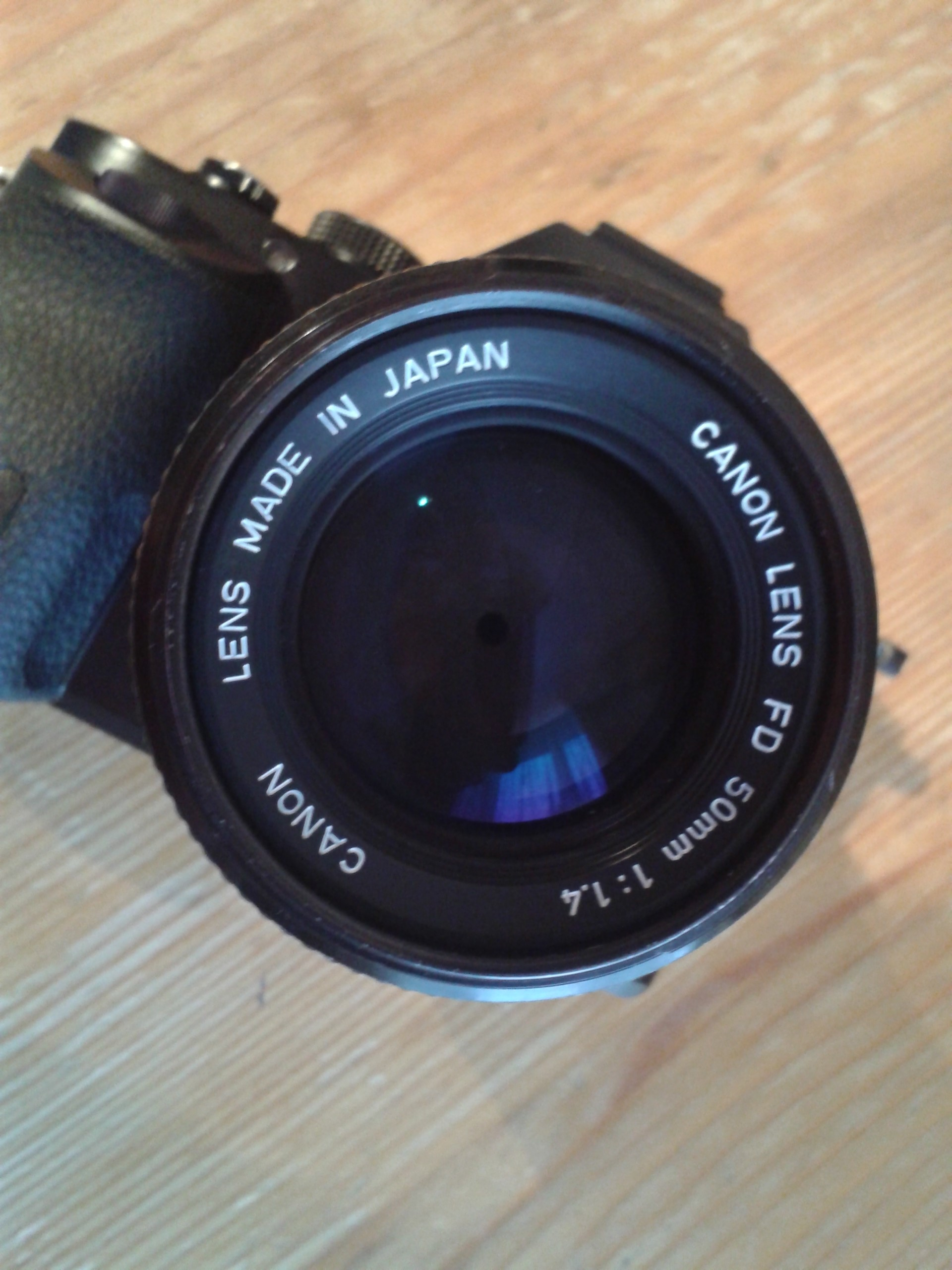 Canon FD 50mm f1 4 - what version is this?: Sony Alpha / NEX E-mount