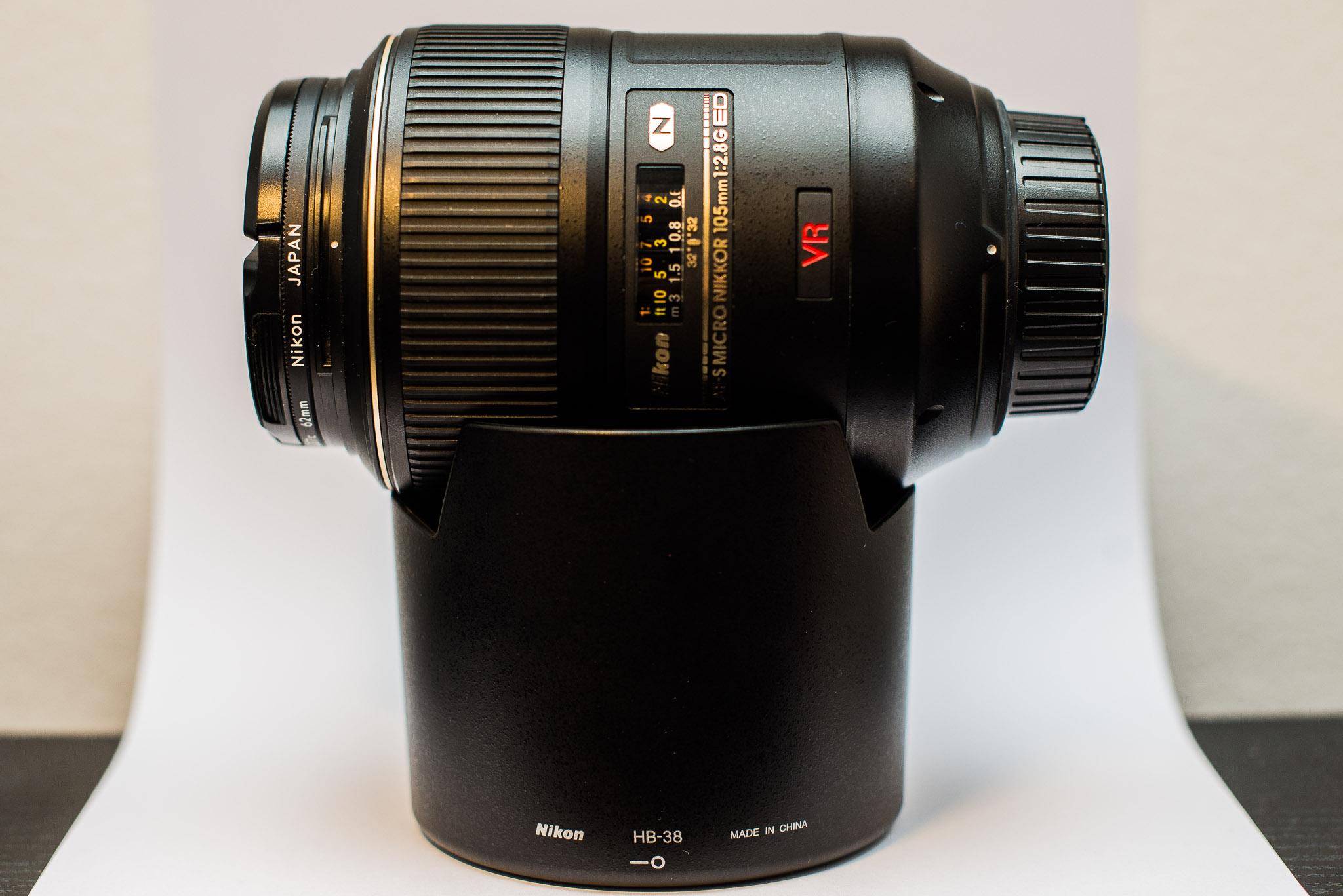 For Sale Nikon Af S Vr Micro Nikkor 105mm F 28g If Ed Dx Fisheye View Original Size