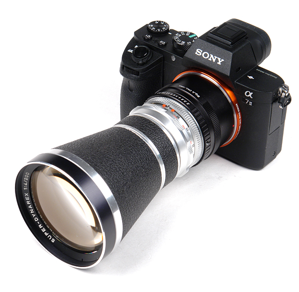 Werramatic Werra 3,4,5 onto Micro Four third M43 camera adapter with aperture co