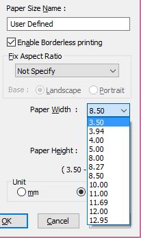 Epson P800 and Borderless Custom Sizes: Printers and