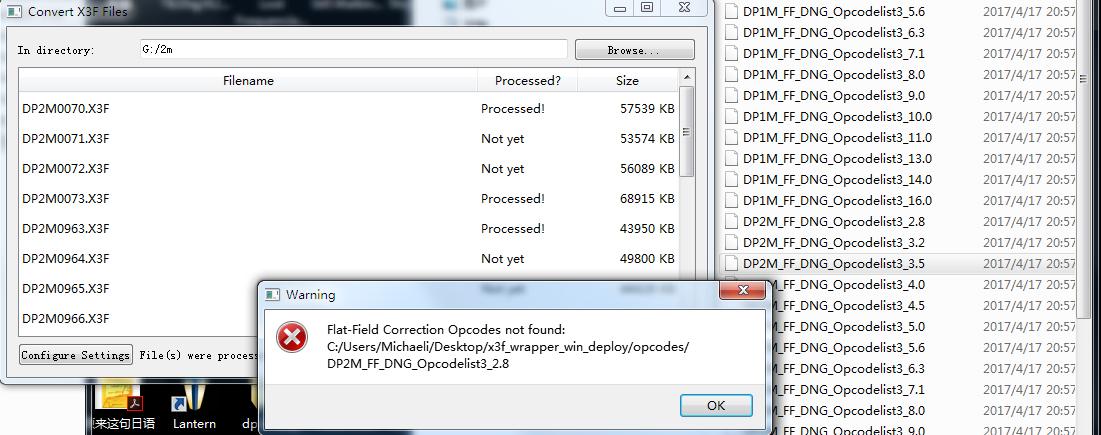 Re: Adding Merrill Opcodes to Kalpanika's X3F wrapper (Mac