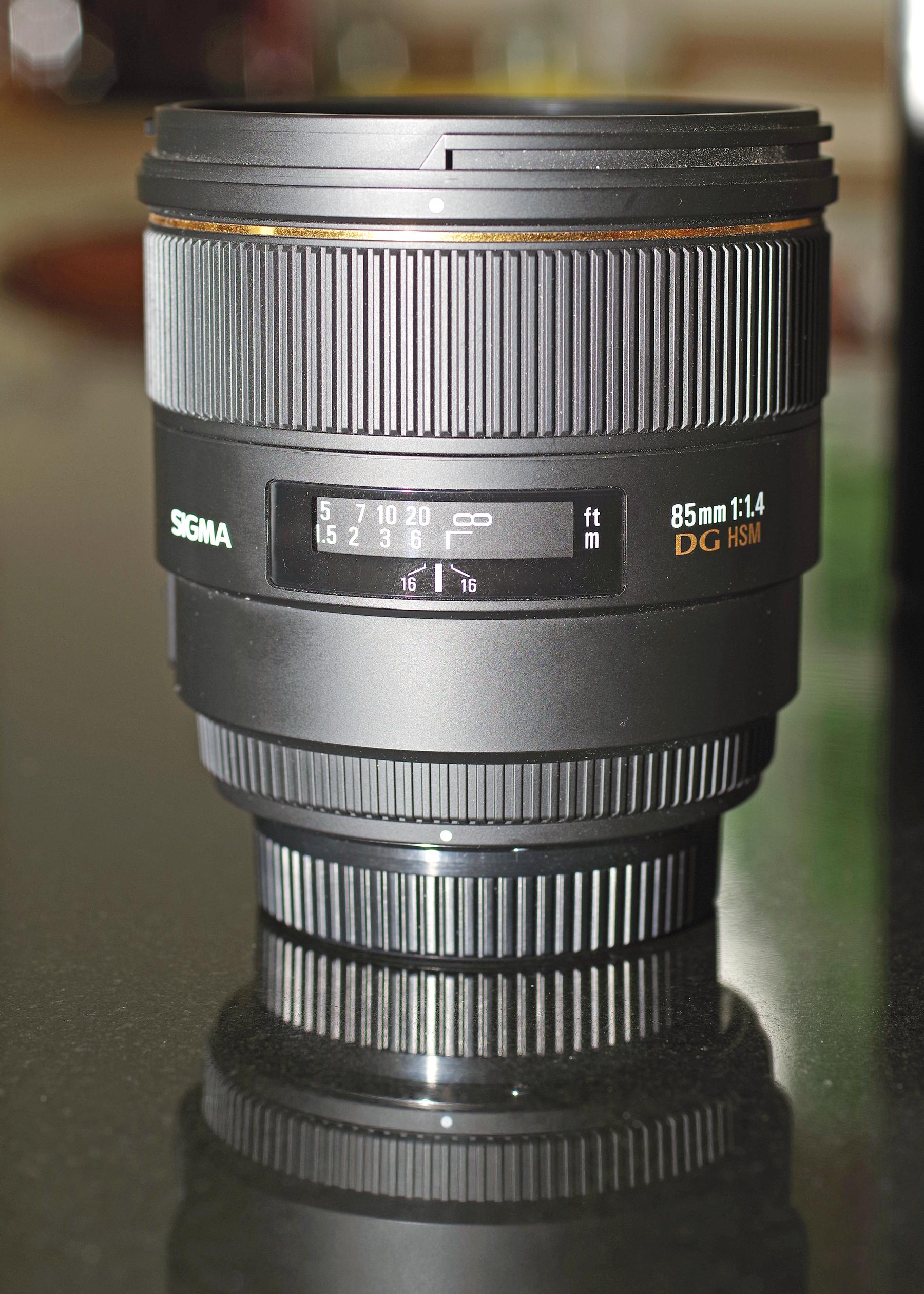 Sigma 85mm F 14 Ex Dg Hsm Lens For Pentax Excellent Condition Nikon View Original Size