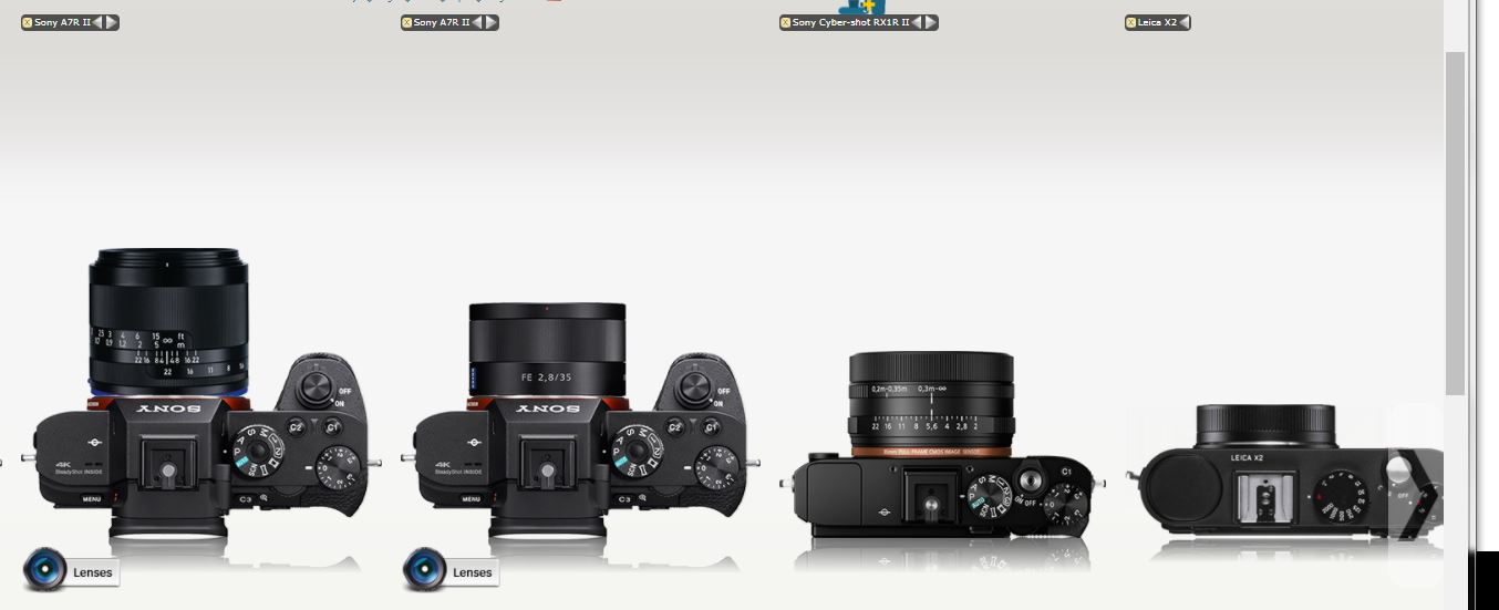 Ultra compact lenses for Sony E. Where are they?: Sony Alpha Full ...