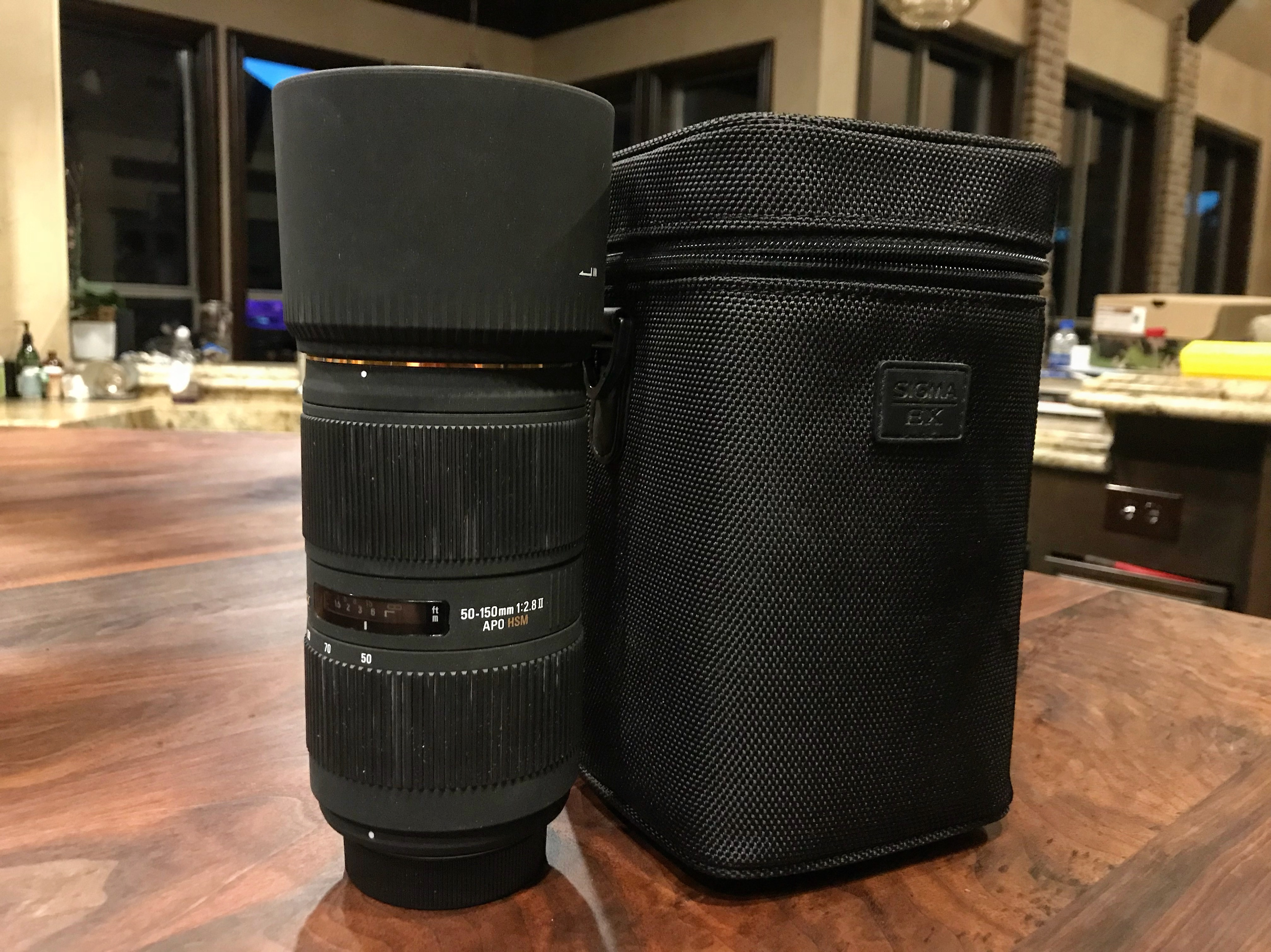 863dd48ed6de Sigma 50-150: worth it to send off for repair?: Third Party Lens ...