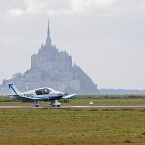 landing at Mont Saint Michel, Sigma C at 600mm
