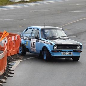 Donnington classic Rally, United Kingdom.