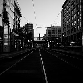 Early morning: Berlin | Coolpix A | BW
