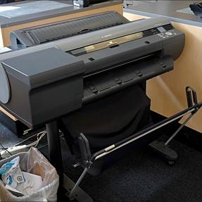 Canon iPF6400 at FedEx - a bit of printer porn