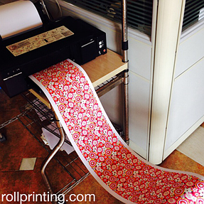 Roll Printing on Epson L800 1500 by PrintCtrl