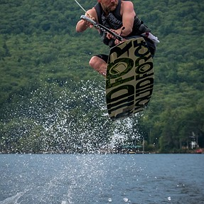 wake boarding and wake surfing with m4/3