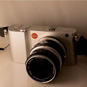 New Toy - Leica T with Adapters