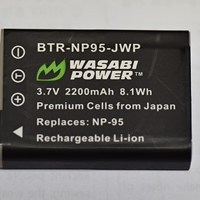 Wasabi batteries for X30