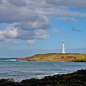 Cape Leeuwin Lighthouse. 'Sentinel' of two Oceans.